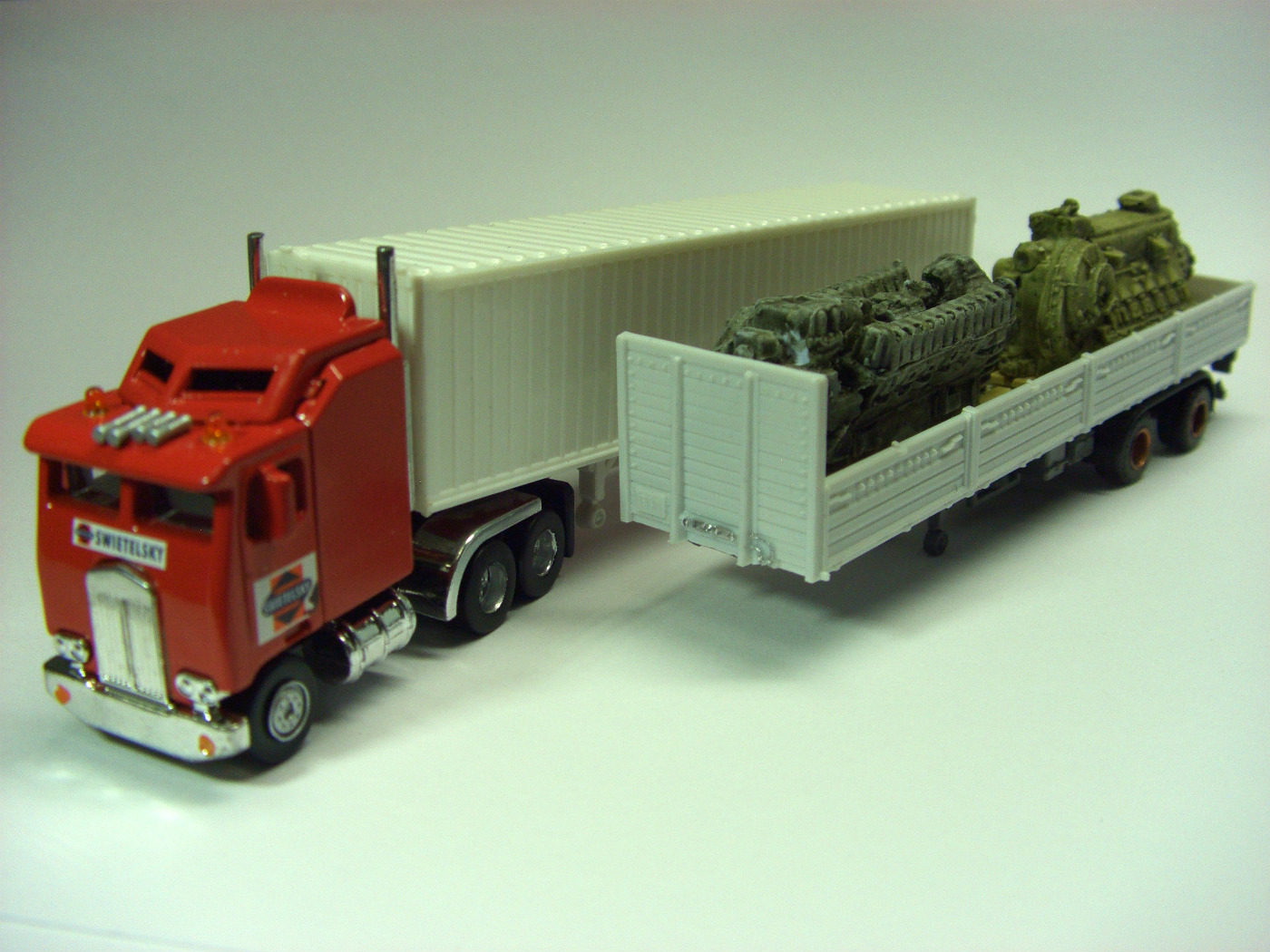 Toy Tractor Trailer Trucks : Toy trucks trailers ebay autos post